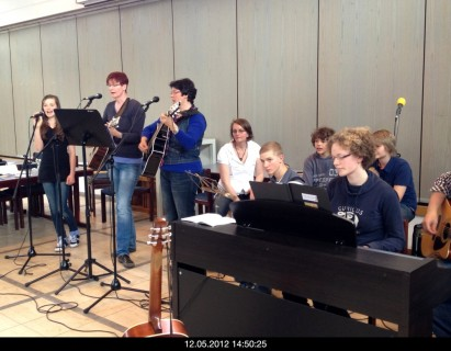 Bandworkshop zum neuen Liederheft