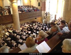 Chortreffen in der Alten Kirche