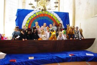Die große Flut, Familiengottesdienst in der Alten Kirche